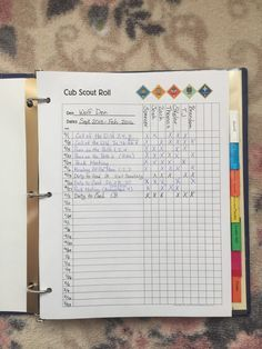 Rolls * for Cub Scout Den and Pack Meetings ~ Den Leader Records.  It is so important to have something you can always look back on to verify records.  This is a fast and simple way to have a permanent record.  If I mark a roll, I can go back at any point to update the rest of my records.