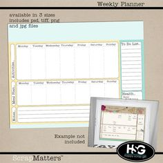 Free Printabe Shopping List And Menu Planner Notepad Style Layout