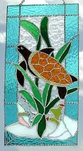 Image result for stained glass turtle patterns