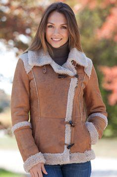 Camarilla Shearling Sheepskin Jacket  #13313