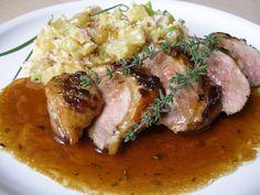 Food 52, Steak, Pork, Food And Drink, Chicken, Recipes, Lemon, Egg, Pork Roulade
