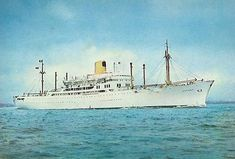 SS Cathay p liner which we sailed in