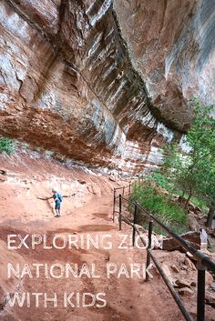 The Ultimate Guide to Exploring Zion National Park with Kids - No Back Home Come explore one of the national park's best kept secrets. Find out what to do & where to stay in this guide for exploring Zion National Park with kids. Adventure Time, Adventure Travel, Aragon, Places To Travel, Places To Visit, Travel Destinations, Travel Things, 5 Things, Utah Vacation