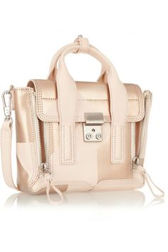 1cb5aeb00 3.1 Phillip Lim - The Pashli mini leather trapeze bag