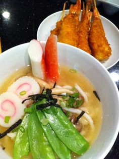 Easy Udon Miso Soup