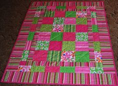 My Patchwork Quilt: ELLAMEE'S QUILT --  instructions to make