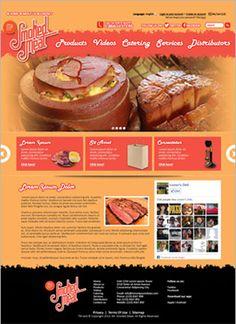 A website I designed I designed for Smoked Meat.