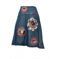 Short Skirt with Ankara Combinations