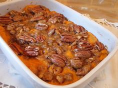 I absolutely love this dish. I got the recipe from my mom, but have added a couple of things to it. It is usually something that our family makes for the holidays, but we love it so much that I make it throughout the year.