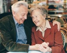 Maya Muses:  To see older couples still holding hands, still in love is just as beautiful, if not more so, than the beauty of a first love.