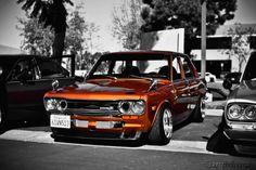 Datsun 1600, Datsun Car, Nissan Infiniti, Rims For Cars, Nissan Gtr Skyline, Old School Cars, Japan Cars, Jdm Cars, Retro Cars