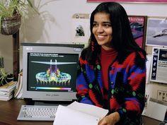 Kalpana Chawla in Jan. 1994 when she was an astronaut | Veethi