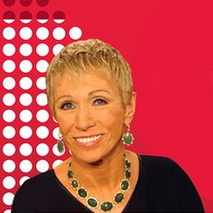 Barbara Corcoran and The Cordial Cherry at the 25th Anniversary Celebration of the Women's Fund of Omaha.