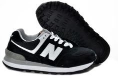 New Balance 574 ML574UC Chaussures Unisexe Noir/Blanche Amoureux Femme/Homme