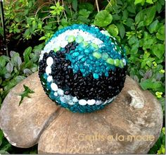Pinterest Home Gardening | picture of the new ornamental garden ball in the garden