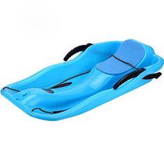 e-Joy Kids Snow Sled Boat Sledge Toboggan Glider with Brakes Downhill Sprinter Winter