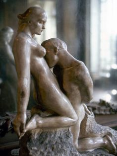 Rodin: Lovers, 1911 Photographic Print I glance at his profile, beloved, much beloved. When did that happen in my scheme? When did his profile become etched on my soul as if carved by Rodin? My mind places us immortalised in a sculpted kiss.