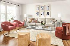 Otis Swivel Chair - - Modern Living Room Furniture - Room & Board Loveseat Living Room, Living Room, Furniture, Room, Living Room Furniture, Modern Leather Chair, Modern Lounge Chairs, Modern Furniture Living Room, Room Furniture