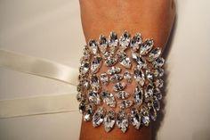 Marquee Crystal Bracelet - Etsy, $70