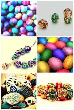 Pugster Ester Faberge Egg Style Beads