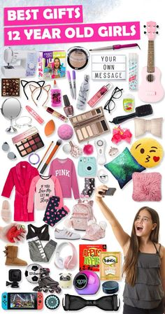 Tons of great gift ideas for 12 year old girls.