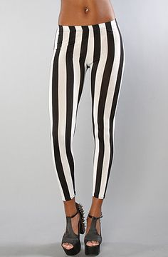 vertical stripes are oh so sexy. The Sage Leggings by *NYC Boutique @ karmaloop