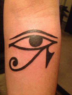 For Joey - My Eye of Horus tattoo. Johnny Arias at Empire Tattoo in Riverside, California.