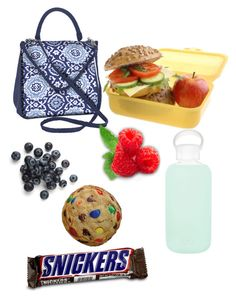 """""""(Kinda) healthy pack lunch"""" by aribebop ❤ liked on Polyvore featuring Fit & Fresh, bkr, Iscream and arisbacktoschool"""