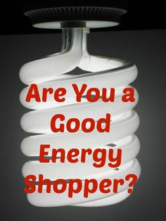 Are You a Good Energy Shopper? How to save money on household bills. Help with…