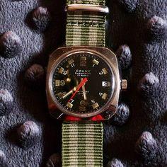 d3ed19be5c3a Cauny Prima Submarine 17 Jewel w Date vPIT 1956