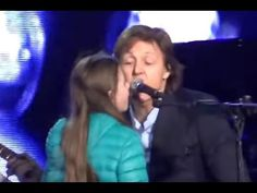 Paul McCartney and little girl - Get Back