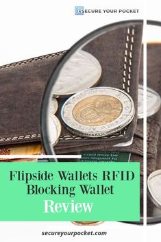 We're taking a look today at a wallet designed and manufactured in the US by Flipside Wallet to see just how its features stack up. Rfid Blocking Wallet, Rfid Wallet, Money Safe, Kinds Of Fabric, Leather Texture, Minimalist Wallet, Everyday Items, Aluminium Alloy