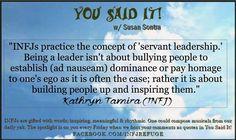 #infj #leadership