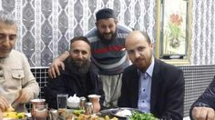 Bilal Erdogan, son of #Turkey's Erdogan, having lunch with ISIS leaders. #Syria  Delicious Kebab.
