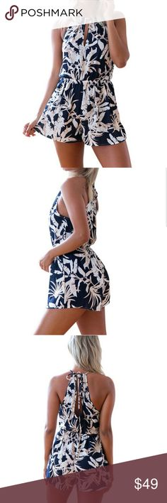 💕FLASH SALE💕SEXY OFF SHOULDER ROMPER! 🌹Elegant Romper Sexy off-shoulder Sleeve with beautiful design print & comfortable fit you can't go wrong! JUST BEAUTIFUL.  Material:Cotton,Polyester  🌹BRAND NEW-BNIP 🌹HIGHEST QUALITY PRODUCTS 🌹SAME DAY SHIPPING 🌹NO TRADES 🌹OFFERS ACCEPTED THROUGH THE OFFER BUTTON  🚫PLEASE FOLLOW CLOSET  RULES! I DO NOT TOLERATE RUDE BEHAVIOR IN MY BOUTIQUE PLEASE BE RESPECTFUL! @shopaprilsboutique.com Shop April's Boutique Dresses Maxi