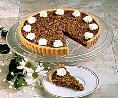 Bourbon Pecan Tart makes a special and unforgettable Thanksgiving dessert.