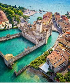 time to Travel To Italy To Italy To Italy amalfi coast To Italy budget To Italy cheap To Italy clothes To Italy outfits To Italy packing To Italy places to visit To Italy tips To Italy with kids Sirmione, Italy 🇮🇹 Photo by Travel The World ( Places Around The World, Oh The Places You'll Go, Travel Around The World, Vacation Destinations, Dream Vacations, Vacation Spots, Beautiful Places To Visit, Cool Places To Visit, Places To Travel