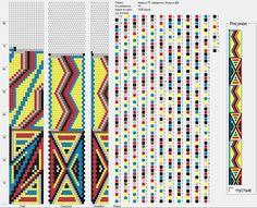 15 around bead crochet rope pattern Crochet Bracelet Pattern, Loom Crochet, Spiral Crochet, Crochet Beaded Bracelets, Bead Crochet Patterns, Bead Crochet Rope, Seed Bead Patterns, Crochet Diagram, Beaded Jewelry Patterns
