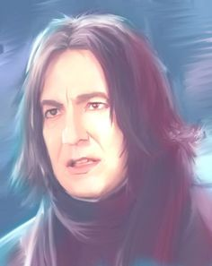 "severus-snape-my-eternal-prince: "" Artwork by Muffin-Wrangler SO handsome!!! ♥ ♥ ♥ """