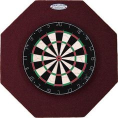 """Pro Series 29"""" Octagonal Backboard in Black Color: Black by Dart-Stop. Save 20 Off!. $87.96. Recessed pre-installed mounting bracket. Backboard cannot be bumped off of the wall. Octagonal Dart-Stop Backboards feature: Tight fitting, wobble-free dart board mounting. Steel-reinforced mounting points. Fasteners are included. Octagonal Dart-Stop Backboards feature: Tight fitting, wobble-free dart board mounting . Recessed pre-installed mounting bracket. Steel-reinforced mounting points. ..."""