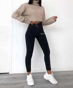 simply beauty teenager outfits ideas for the flawless look 5 ~ thereds. Teenager Outfits, Outfits For Teens, Easy School Outfits, Winter School Outfits, Cute Comfy Outfits, Simple Outfits, Stylish Outfits, Classy Outfits, Fashion Mode