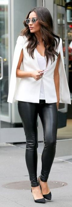 Black And White Chic Outfit