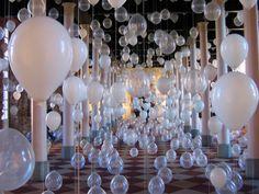 Fun 'N' Frolic: Winter Wonderland Balloon Decor Ideas