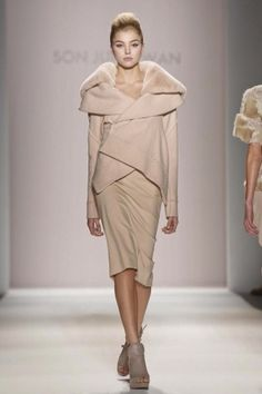 So wearable yet chic! Son Jung Wan Fall Winter Ready To Wear 2013 New York