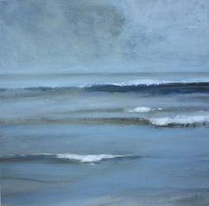 """""""Coastal Tide"""" oil by Claire Kendrick Seascape Paintings, Landscape Paintings, Landscapes, Painting Gallery, Art Gallery, Cannon Beach Oregon, Smart Art, Landscape Quilts, Nautical Art"""