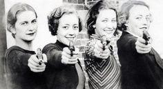 MU Woman's Shooting Club - 1934