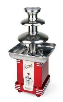 Nostalgia Electrics RFF500 Retro Series Chocolate Fondue Fountain: Amazon.com: Kitchen & Dining