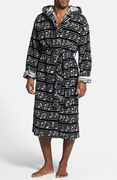 Free shipping and returns on Majestic International  Music Notes  Robe at  Nordstrom.com 245416b18