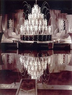 """Art Deco """"Footlight Parade"""", directed by Lloyd Bacon, choreographed by Busby Berkeley, Golden Age Of Hollywood, Classic Hollywood, Old Hollywood, Film Movie, Busby Berkeley, Stage Set, Lindy Hop, Stage Design, Set Design"""