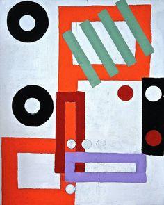 Abstract painting by artist Julien Porisse (France). Go inside his studio: http://magazine.saatchiart.com/articles/artnews/saatchi-art-news/inside-the-studio-saatchi-art-news/julien-porisse #red